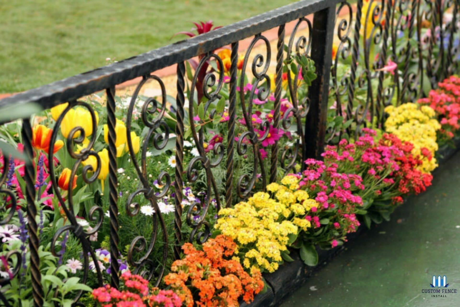flowers-ornamental-iron-fencing-wa